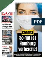 Hamburger Morgenpost - 27-02-2020 - German