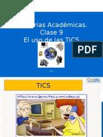 Clase 9  El uso de las TICS[1]