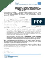 Certificación para Laborar - Periodo de Cuarentena - Su Aliado Legal2