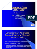 CK Sarbanes Oxley Act of 2002