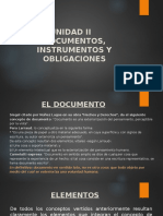 UNIDAD II DOCUMENTO E INSTRUMENTO.pptx