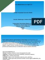 Teorías administrativas en el siglo XXI