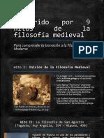 Recorrido por algunos hitos de la filosofía medieval