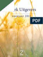 ZWERK Uitgevers - Folder Voorjaar 2011