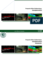 UST proyecto mina subterranea  descripcion Metodo  SLS sin relleno