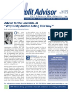 UHY Not-for-Profit Newsletter - April 2008