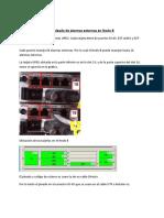 Cableado de Alarmas externas en las estaciones Agregadores - SOLO NODO B