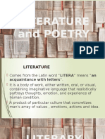 Literature and Poetry Art