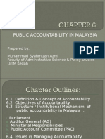 CHAPTER 6 - PUBLIC ACCOUNTABILITY IN MALAYSIA.ppt