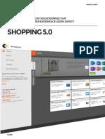 Shopping Product Sheet