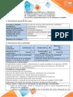 Guía de actividades y rúbrica de evaluación - Fase  2 - Crear empresa, perfil y parametrización en Siigo nube