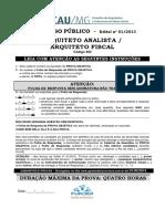 1-PROVA Arquiteto CAU MG 2014.pdf