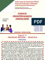 Venezuela y la Seguridad Regional