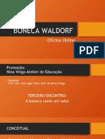 Oficina da Boneca Waldorf Online - Terceiro encontro