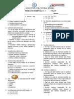 evaluacion ciencias 5-1