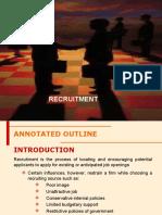 1 Recruitment
