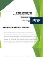 2. PRESUPUESTO DE VENTAS