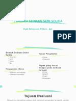 Evaluasi Sediaan Semi Solida