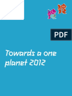 London 2012 Sustainability Plan Gvrmnt