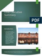 Final Executive Summary Ppt