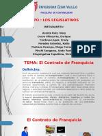Trabajo Contrato Franquicia - Grupo Los Legislativos