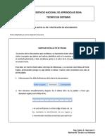 Inserción de Notas al pie y Restricciones