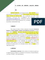 PROMUEVE ACCION DE AMPARO