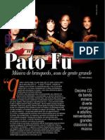 Reportagem Pato Fu - Revista ZZZ
