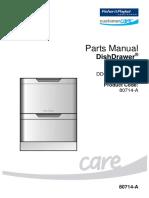 parts manual 80714-A DD60DCX6 FP AA