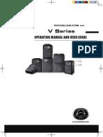 Especificaciones subwoofer Wharfadale V18B