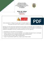 Guía de trabajo # 1 -  Geometría  7°