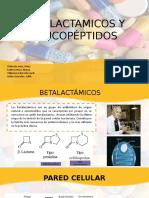 BETALACTÁMICOS-Y-GLUCOPEPTIDOS-PRESENTACION