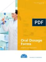 Oral Dosage Forms Brochure