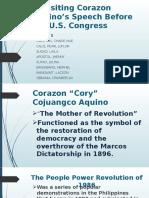 Revisiting Corazon Aquino's Speech Before the U