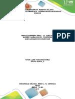 FASE 2 - Contexto Municipal y Clasificación de Residuos Sólidos.
