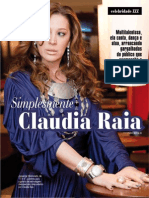 Reportagem Claudia Raia - Revista ZZZ