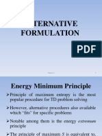 5. Alternative Formulation