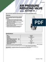 Pressure Reducing Valve for Air