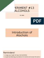 EXPERIMENT 13 ALCOHOLS.pptx