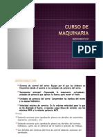 CURSO DE MAQUINARIA