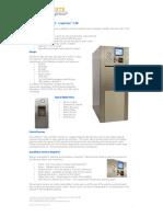 autoclave data sheet