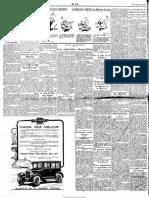 El Sol 1926-10-1926 anuncio conferencias Unión Iberoamericana 1926-27, AC entre ellos