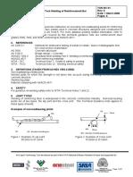 TGN-BC-01 Tack welding of reinforcement bar