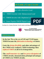 Chapter 6 the NMOS Family of Logic Circuit