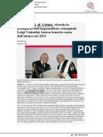L'Università di Urbino ricorda la scomparsa dell'imprenditore romagnolo Luigi Valentini - pu24.it, 20 aprile  2020