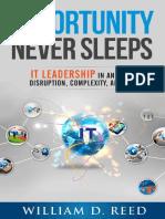 Opportunity Never Sleeps IT Leadership