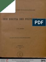 Robert, C. (H. Schenck) Die nekyia des Polygnot. (Hallisches Winckelmannsprogramm 16)