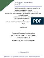 Invitatie Concurs EED II-1