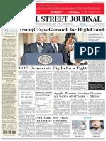 Wallstreetjournal 20170201 the Wall Street Journal