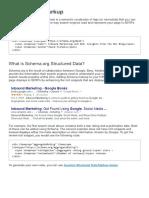 1. What is Schema.org Structured Data